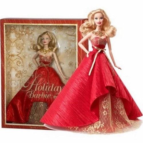 barbie noel 2014 Barbie Poupée Mannequin Collection Mattel Holiday Noël 2014 Doll  barbie noel 2014
