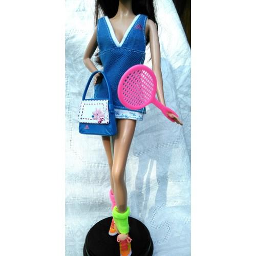 b3a31291d39 Barbie Vêtements   Tenue Tennis Adidas   Mattel - Achat et vente