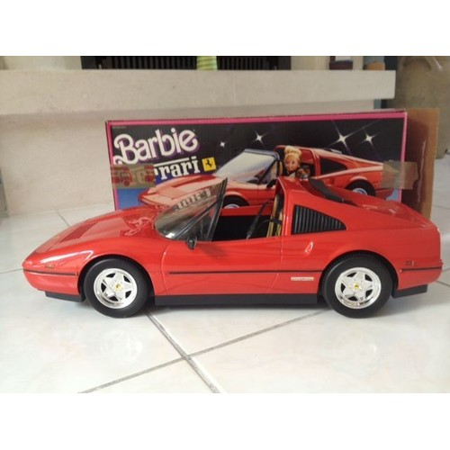 barbie voiture ferrari rouge mattel mexico 1987 achat et vente. Black Bedroom Furniture Sets. Home Design Ideas