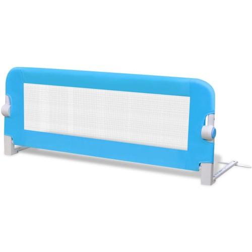 barri res de lit pour enfants 102 x 42 cm bleu pas cher. Black Bedroom Furniture Sets. Home Design Ideas