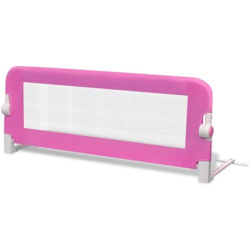 barri res de lit pour enfants 102 x 42 cm rose pas cher. Black Bedroom Furniture Sets. Home Design Ideas