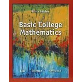 Basic College Mathematics With Access Code de Collectif