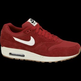 nike air max 1 rouge et blanc