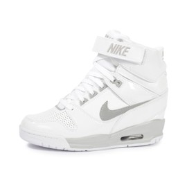 basket nike compensee femme blanche