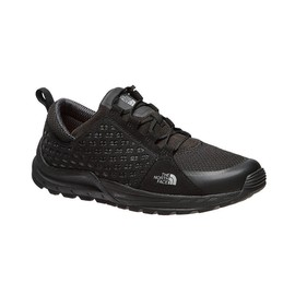 The North Face Mountain Sneakertnf Blacksmoke Noir - Chaussures Baskets basses Homme
