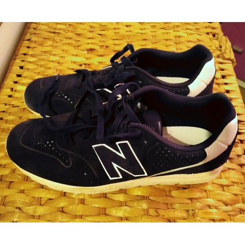 photos officielles de861 6775b Baskets New Balance 41 1/2 Bleu