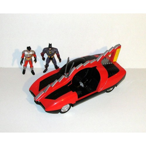 batman et robin batmobile voiture robin qui parle bandai 95 figurine batman et robin kenner. Black Bedroom Furniture Sets. Home Design Ideas