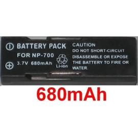 Batterie 3.6V 680mAh pour PENTAX D-LI72
