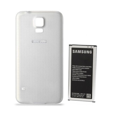 offer buy  batterie haute capacite mah samsung et cache adapte blanc galaxy s