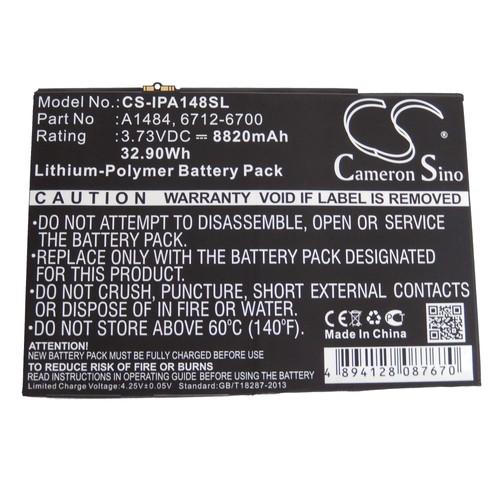 batterie vhbw 8820mah netbook pad tablet apple a1474 a1475 ipad 5 ipad air ipad. Black Bedroom Furniture Sets. Home Design Ideas