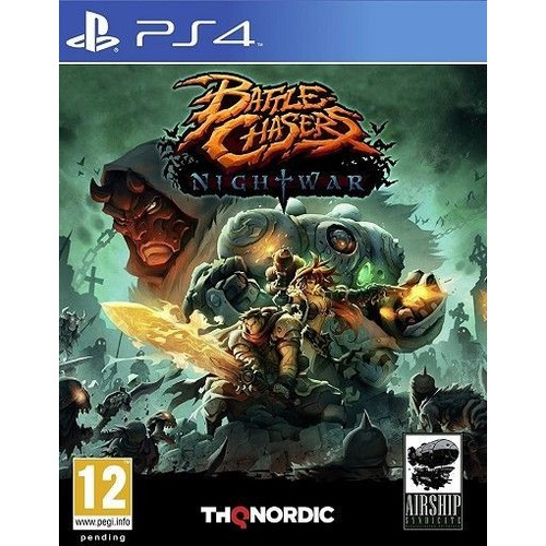 Nordic Chaser: Battle Chasers : Nightwar