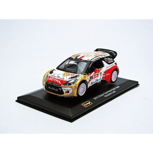 bburago 1 32 citroen ds3 wrc 2013 41044w neuf et d 39 occasion. Black Bedroom Furniture Sets. Home Design Ideas