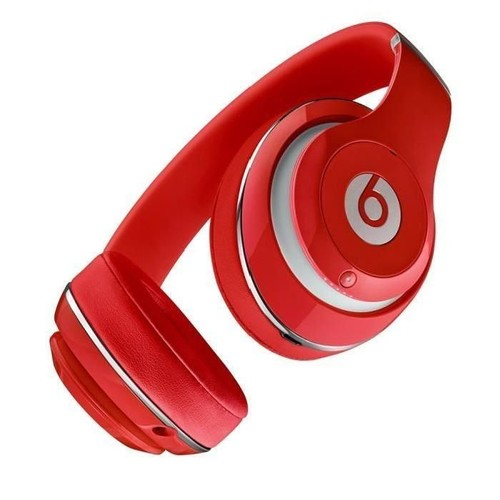 Beats Studio 2 Casque Audio Supra Auriculaire Rouge