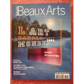 Beaux Arts Magazine N� 196 - Septembre 2000 - Daniel Clowes/ Araki/ Martin Szekely/ Serge Rezvani/ Cerrit Dou/ Tobias Rehberger/ Cerfs- Volants De Tr�panier/ ... 196