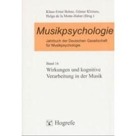 Musikpsychologie de Collectif