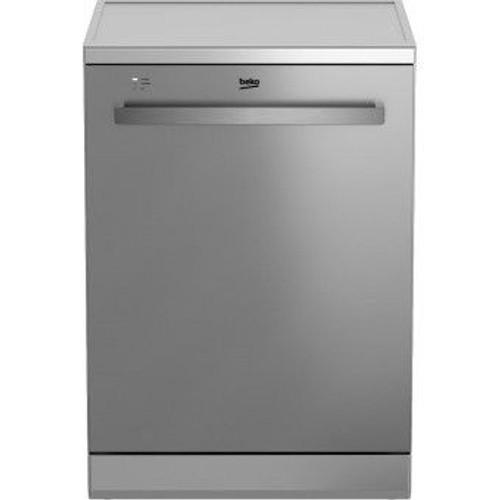 beko den28321x lave vaisselle posable 13 couverts 44db a inox. Black Bedroom Furniture Sets. Home Design Ideas
