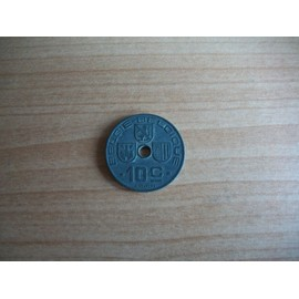 Belgique.10 Centimes L�opold Iii 1942 En N�erlandais.N�1811.