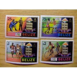 Belize - 1984 - Jeux Olympiques De Los Angeles - Yvert & Tellier N� 676 / 679 ** Mnh