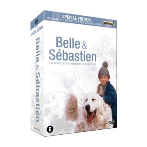 belle et s bastien l 39 int grale saison 1 a 3 coffret 9 dvd import avec audio francais de. Black Bedroom Furniture Sets. Home Design Ideas