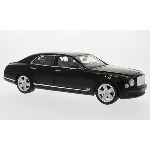 bentley mulsanne noire voiture miniature miniature d j mont e rastar 1 18. Black Bedroom Furniture Sets. Home Design Ideas