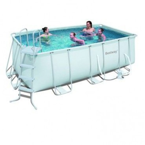 bestway piscine tubulaire 412x201x122 pas cher rakuten. Black Bedroom Furniture Sets. Home Design Ideas
