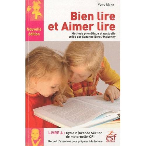 Bien lire et aimer lire livre 4 grande section de - Livre maternelle gratuit ...