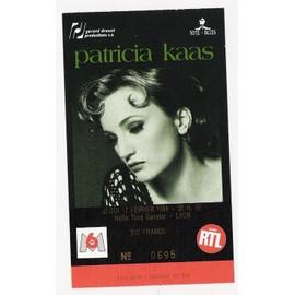 Billet Concert Patricia Kass Lyon