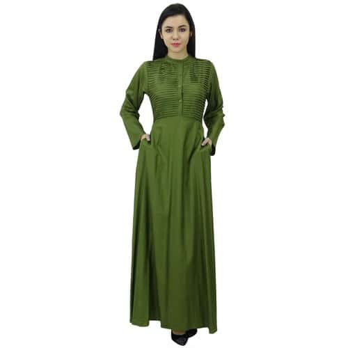 4c3b960ee21 bimba-femmes-manches-longues -maxi-mandarin-collar-uni-jilbab-robe-avec-poches-vert-1123824537 L.jpg