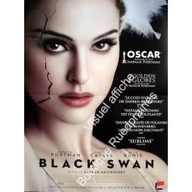 black swan v ritable affiche de cin ma format 120x160 cm darren aronofsky natalie. Black Bedroom Furniture Sets. Home Design Ideas