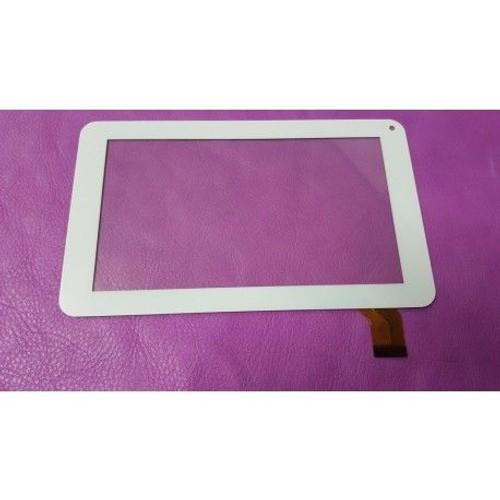 blanc ecran tactile touch digitizer tablette mpman mp7 quad 7 android tablet. Black Bedroom Furniture Sets. Home Design Ideas