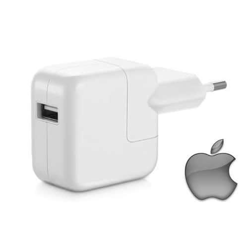 bloc chargeur secteur d 39 origine apple pour ipad 10w pas cher. Black Bedroom Furniture Sets. Home Design Ideas
