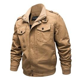 purchase cheap 13470 e089f blouson-homme-blouson-de-couleur-unie-blouson-d-automne-et-d-hiver-blouson-decontractee-col-montant-blouson-sans-capuche-blouson-grande-taille-bk0107-  ...