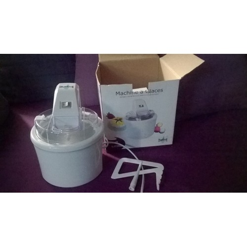 Bluebell bl1100 machine a glaces sorbeti re pas cher - Prix d une sorbetiere ...