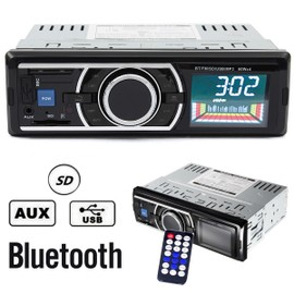 bluetooth lcd voiture autoradio st r o mp3 lecteur fm radio usb sd main libre. Black Bedroom Furniture Sets. Home Design Ideas
