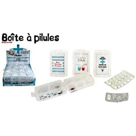boite a pilule pilulier a medicament rigolo semainier 10 cases. Black Bedroom Furniture Sets. Home Design Ideas