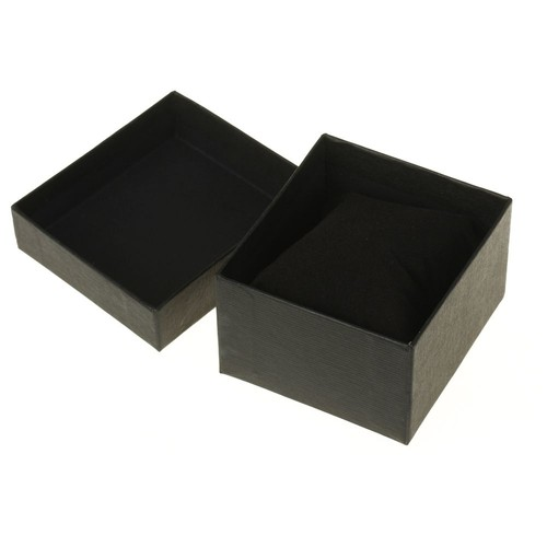 bo te de rangement crin coffret housse pr sentoir noir pour montre cadeau. Black Bedroom Furniture Sets. Home Design Ideas