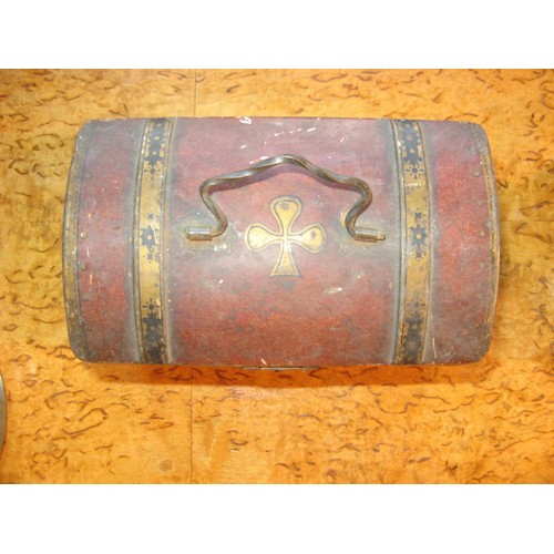 Boite m tal ancienne moka williot forme malle coffre - Boite metal ancienne ...