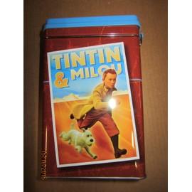 Boite Tintin Rectangle * Longeur 12cm * Largueur 8cm * Hauteur 19cm