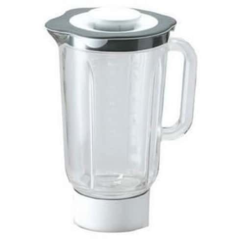 At338 blender mixeur complet gris en verre 1 5l pour robots chef major et cooking chef - Robots mixeurs et blenders ...