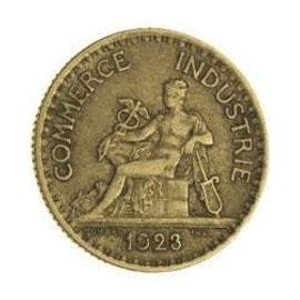 bon pour 2 francs 1923 chambre de commerce achat et vente