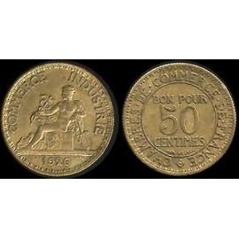 Bon pour 50 centimes 1926 chambres de commerce france for Chambre de commerce de france bon pour 2 francs