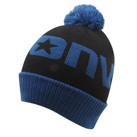 Bonnet A Pompon Junior Garcon Converse Noir Et Bleu - Achat et vente a8b6004f415