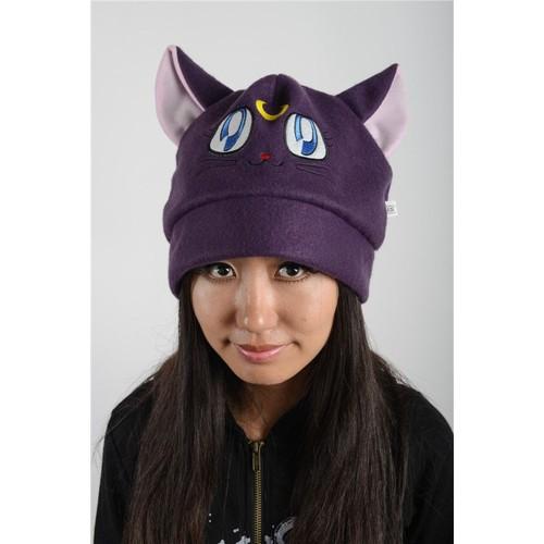 bonnet chapeau kawaii mignon oreilles neko chat luna sailor moon d guisement cosplay convention. Black Bedroom Furniture Sets. Home Design Ideas