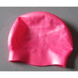 Bonnet De Bain Tribord De Decathlon , Rose , Taille Unique Spécial Cheveux  Longs