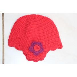 Bonnet Du Pareil Au M�me Rouge En 6/12 Mois