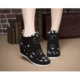 boots bottines botteschaussure creepers sport basket femme montante compensees sneakers tete. Black Bedroom Furniture Sets. Home Design Ideas