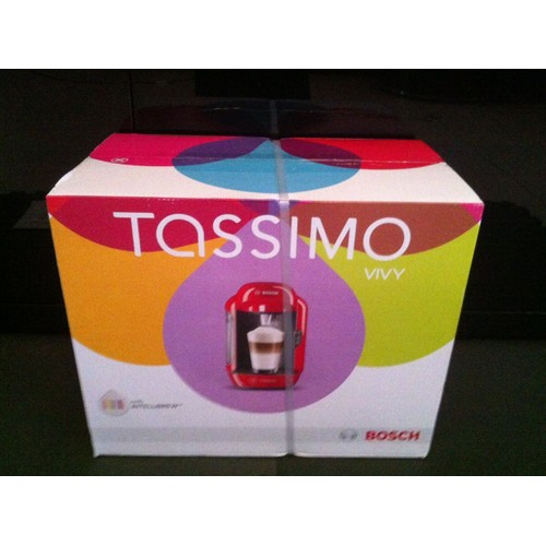 bosch tassimo vivy rouge laqu pas cher priceminister rakuten. Black Bedroom Furniture Sets. Home Design Ideas