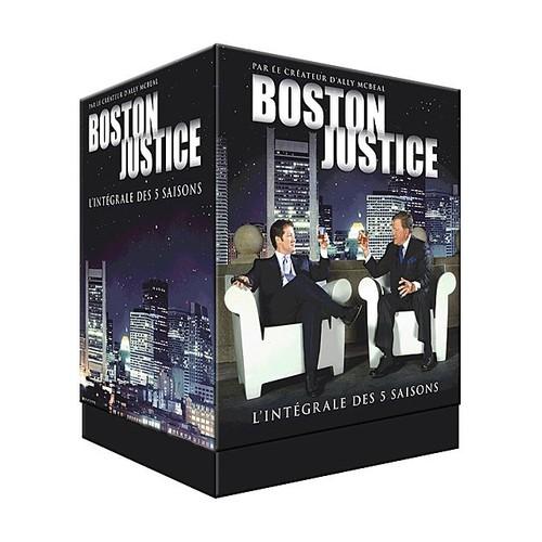 s rie boston justice en dvd blu ray vod pas cher ou d 39 occasion. Black Bedroom Furniture Sets. Home Design Ideas