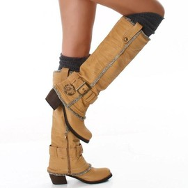 bottes ou chaussures country femmes
