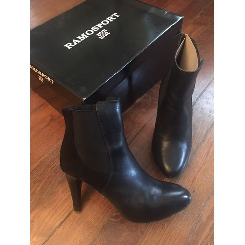 e644d9569e8edf Bottines Ramosport 38 Noir - Achat vente de Chaussures - Rakuten